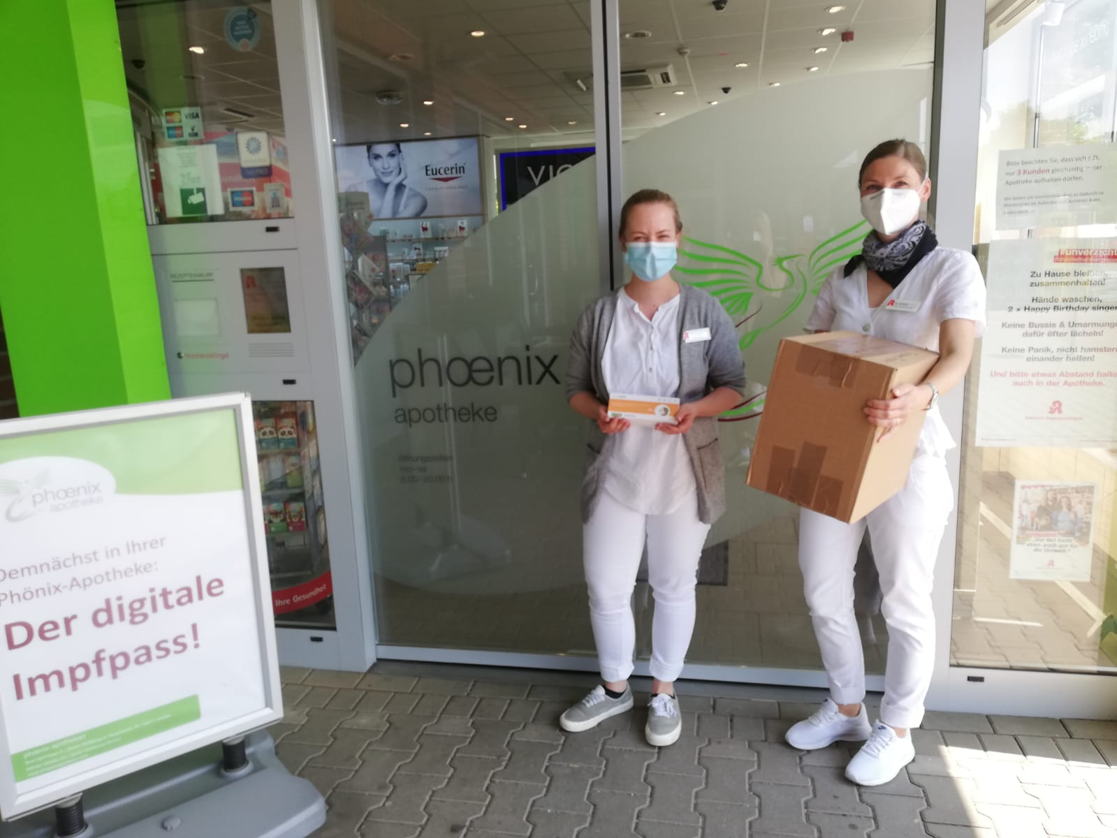 Tolle Neue Aktion Der Phonix Apotheke Der Digitale Impfausweis Ab 14 06 21 Tanzendes Theater Wolfsburg